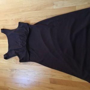 New Banana Republic dress in brown